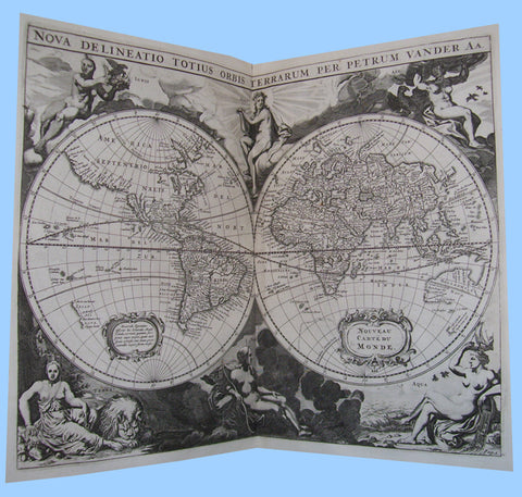 Magnificently illustrated 18th century history of the world
