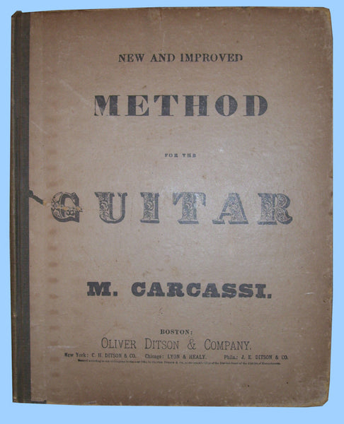Carcassi's Guitar Method