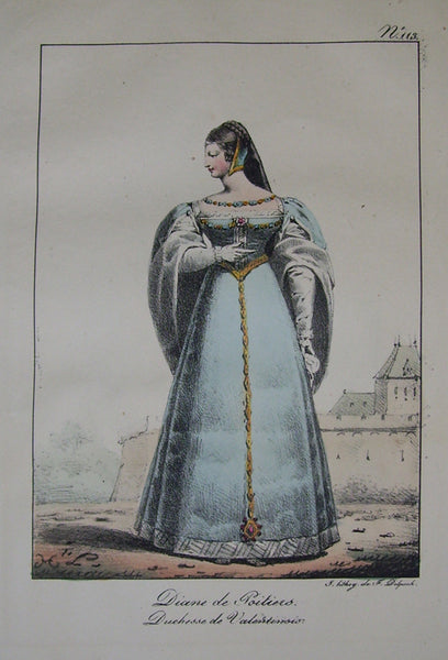 French Costume 1200-1820