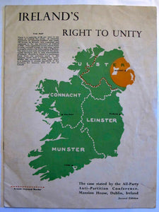 Ireland's Right to Unity