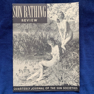 Sun Bathing Review Winter 1950
