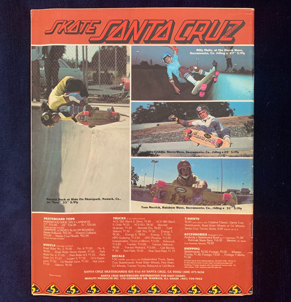 Skateboard World September 1978
