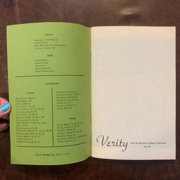 Verity poetry compilation