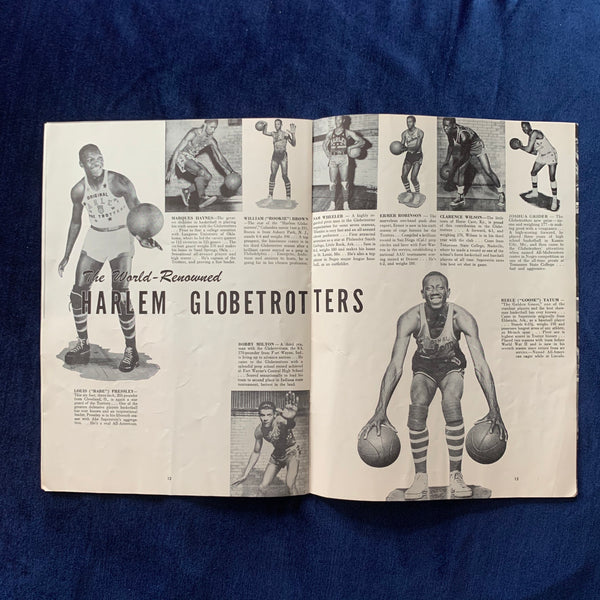 Harlem Globetrotters Silver Anniversary Edition