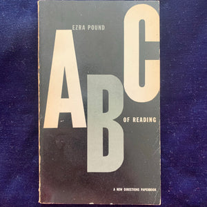 Ezra Pound ABC of Reading