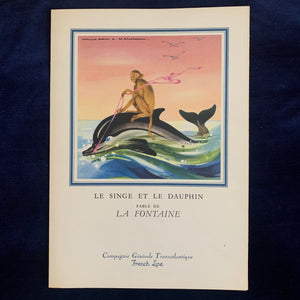 La Fontaine Cruise Menus