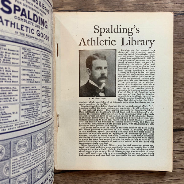 Spalding's Athletic Library Official Roller Skating Guide