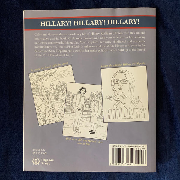 Hillary The Coloring Book