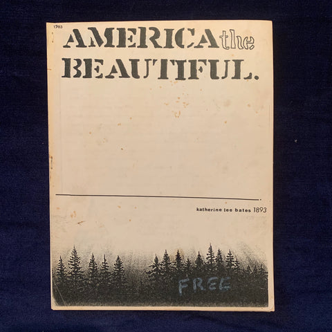 America the Beautiful. 1983.
