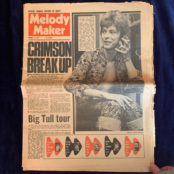 Melody Maker January 22, 1972