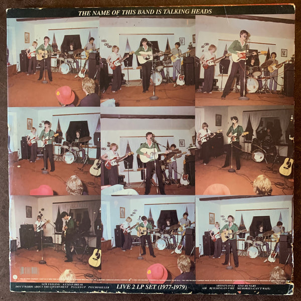 The Name of this Band is Talking Heads - Live LP Set 1977-1979 & 1980-1981