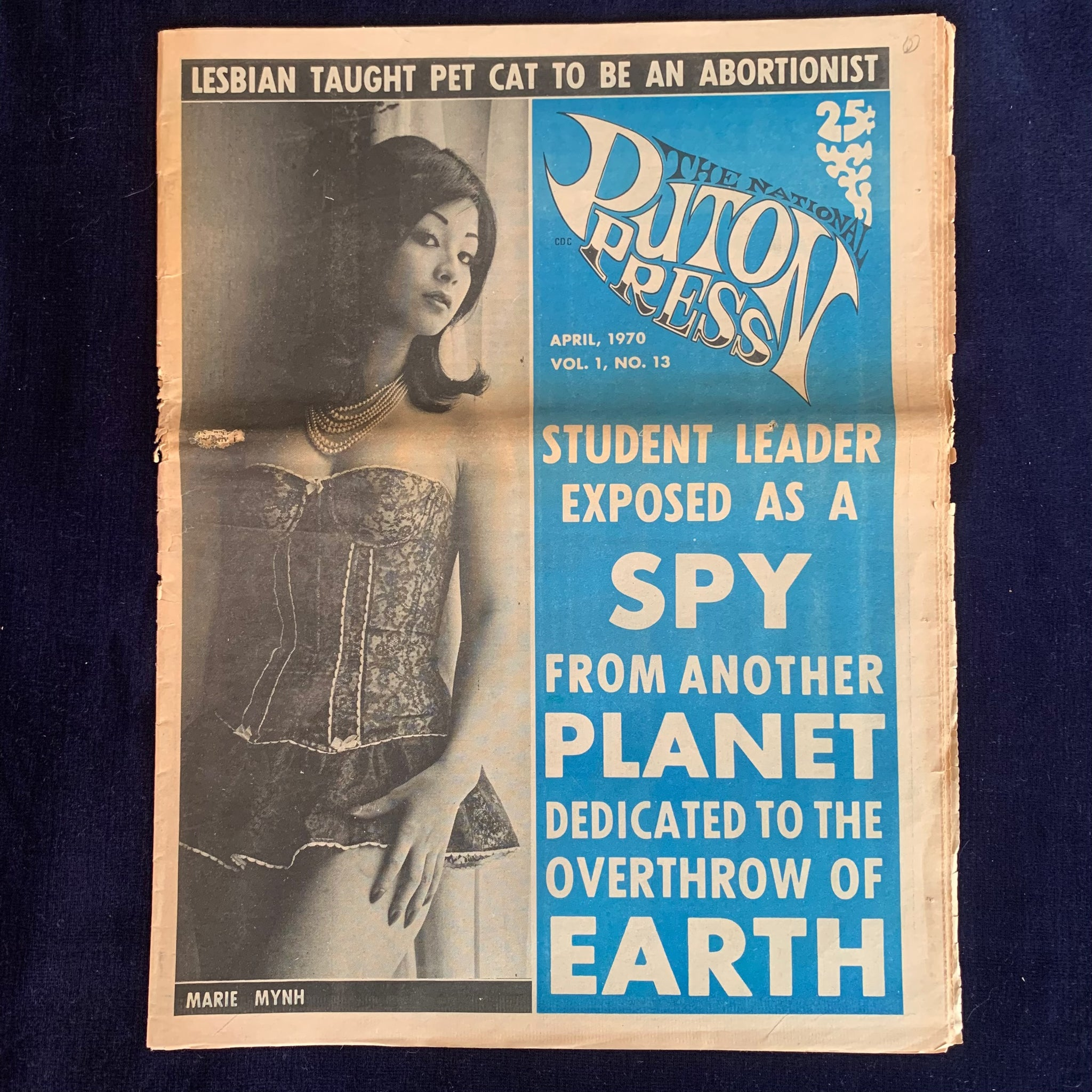 The National Puton Press Vol. 1, No. 13. April 1970