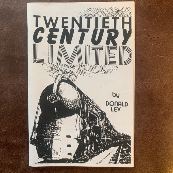 Twentieth Century Limited poems by Donald Lev
