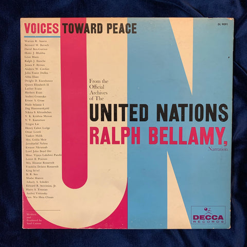 Voices Towards Peace - United Nations