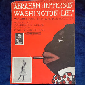 Abraham Jefferson Washington Lee - You Ain't Goin' To Pick No Fuss Out Of Me