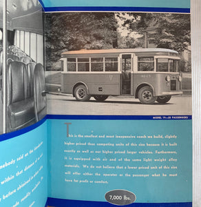 A Portfolio Of Lightweight Motor Coaches