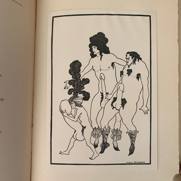 Lysistrata illustrated by Beardsley