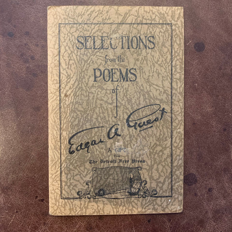 Selections from the Poems of Edgar A. Guest
