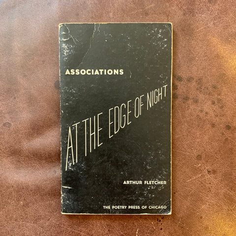 At The Edge of Night by Arthur Fletcher signed