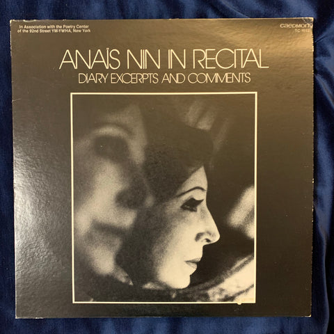 Anais Nin in Recital