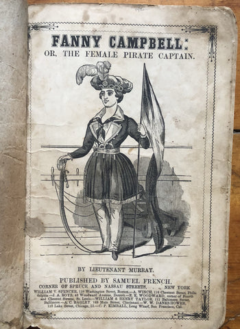 Fanny Campbell the Female Pirate Captain.
