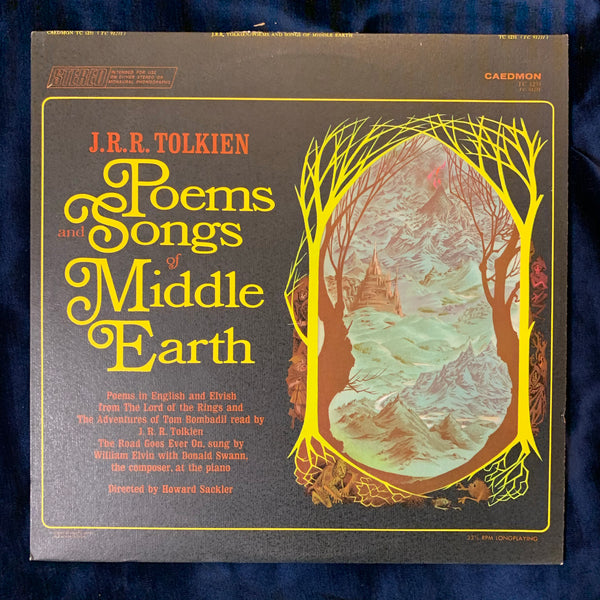 Poems and Songs of Middle Earth read by J. R. R. Tolkien