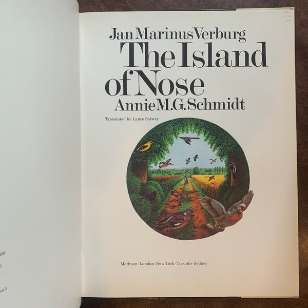The Island of Nose by Annie M. G. Schmidt