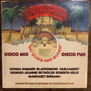 Casablanca Disco Mix - Get Down and Boogie