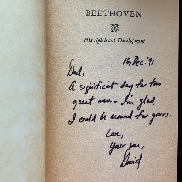 Beethoven His Spiritual Development