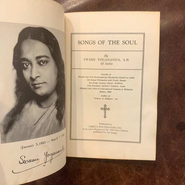Songs of the Soul by Swami Yogananda