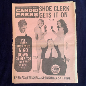 Candid Press Vol. 13, No. 6. August 1972