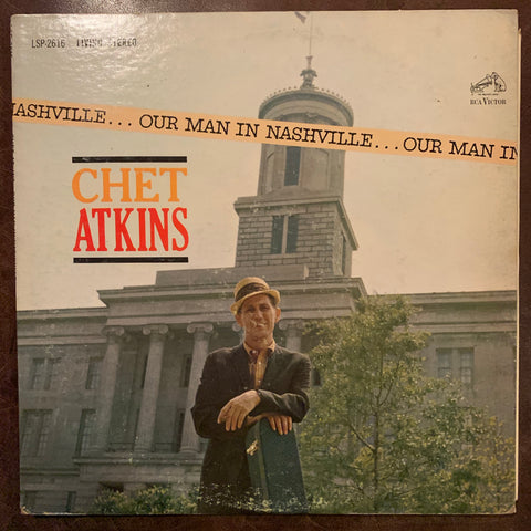 Chet Atkins - Out Man In Nashville