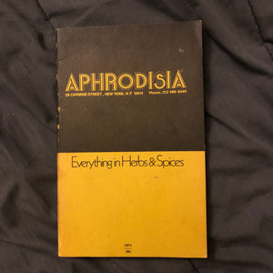 aphrodisia spice catalogue