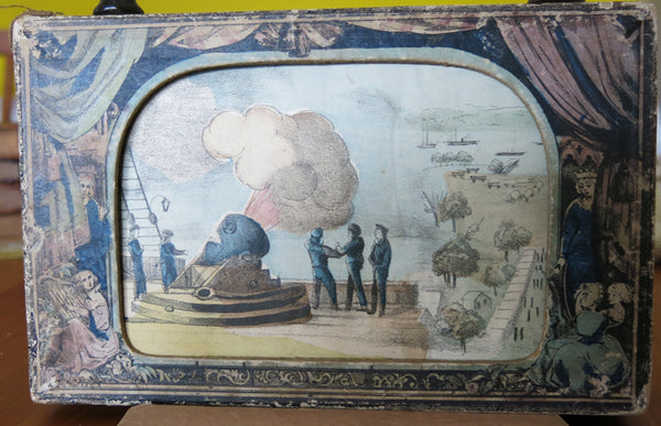 Rare Civil War visual narrative