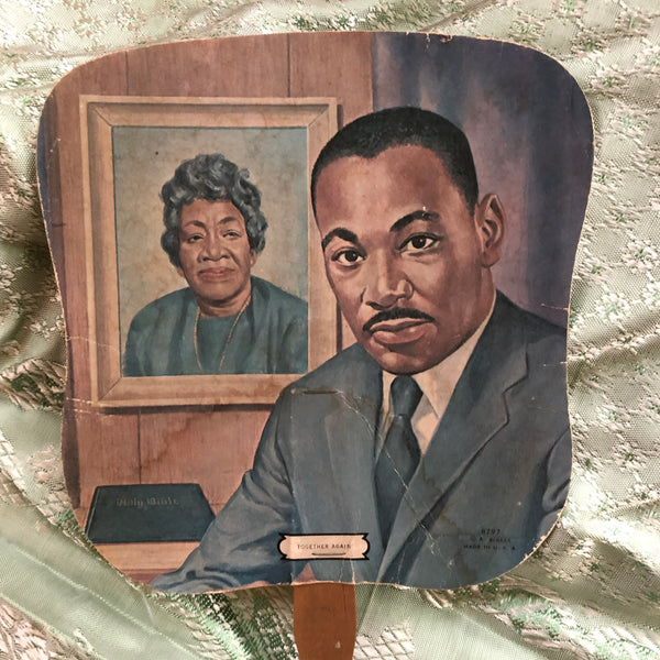 Martin Luther King Funeral Fan