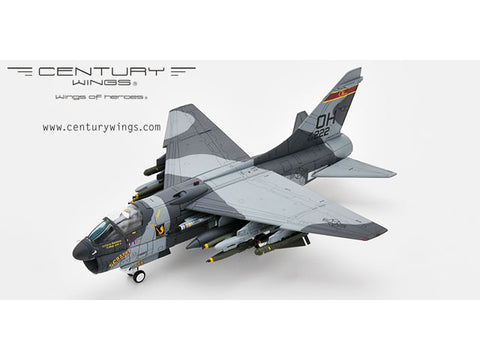 Century Wings 001604 1/72 A-7D CORSAIR II U.S.A.F/ANG 162 TFS 178 TFG 69-222 Ohio ANG CW Diecast Model Military Aircraft