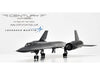 Century Wings 001610 1/72 Lockheed Martin SR-71 Blackbird U.S.A.F. 9th SRW 61-7962 1990 CW Diecast Model Aircraft (No Display Stand)