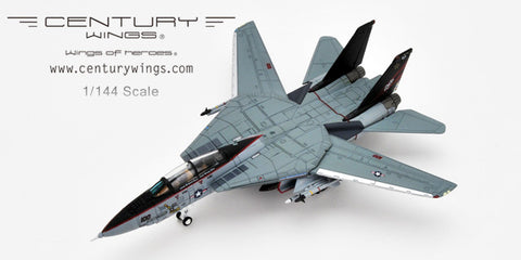 Century Wings 001611 1/144 F-14 F-14A Tomcat U.S.Navy VF-154 Black Knights NF100 1996 CW Diecast Military Model Aircraft
