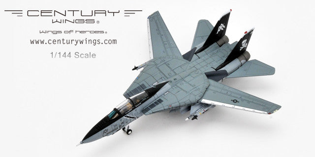 Century Wings 001612 1/144 F-14B Tomcat U.S.Navy VF-103 Jolly Rogers AA101 1998 Diecast Military Aircraft Model