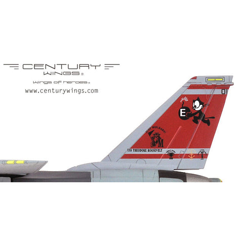 Century Wings 001615 1/72 F-14 F-14D Tomcat U.S.Navy VF-31 USS Theodore Roosevelt 2006 Tomcatters Diecast Model Aircraft