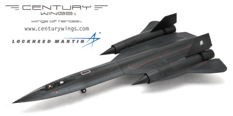 Century Wings 001616 1/72 Lockheed Martin SR-71 Blackbird U.S.A.F 9th SRW 61-7958 1990 Diecast Model Aircraft