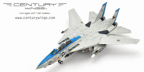 Century Wings 001617 1/72 F-14 F-14D Tomcat U.S.Navy VF-213 Blacklions 2006 Final Cruise Diecast Model Aircraft
