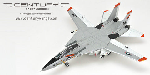 Century Wings 001618 1/72 F-14 F-14A Tomcat U.S.Navy VF-114 Aardvarks USS Kitty Hawk NH105 1978 Diecast Model Aircraft