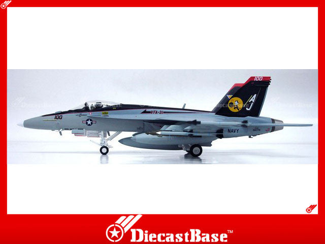 Witty Wings 1/72 F/A-18E Super Hornet U.S.Navy VFA-31 Tomcatters Diecast Military Airrcraft Model (WTW-72-007-010)