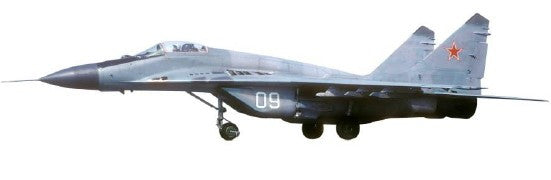 "Witty Wings 1/72 MiG-29 Fulcrum 733 IAP of Russian Air Force ""09"" Diecast Military Aircraft Model (WTW-72-019-019)"