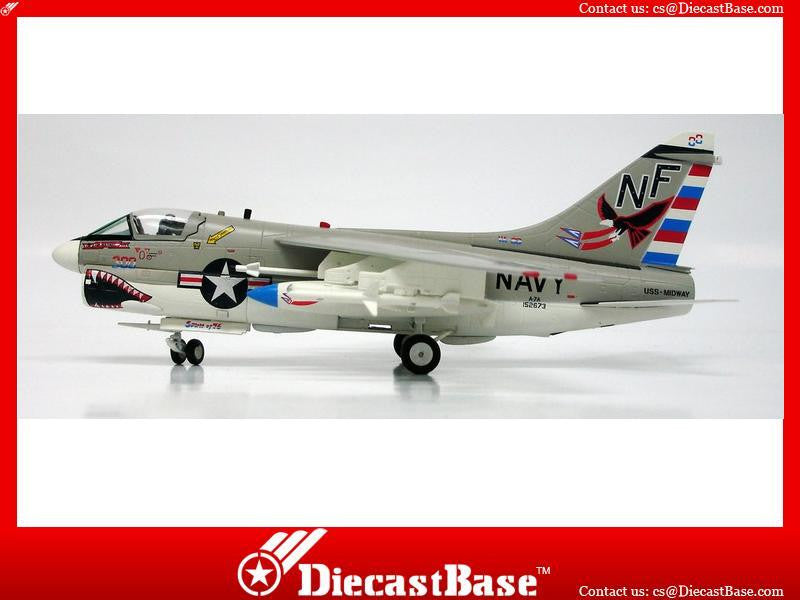 Witty Wings 1/72 A-7A VA-93 Blue Blazers Diecast Military Aircraft Model (WTW-72-024-004)