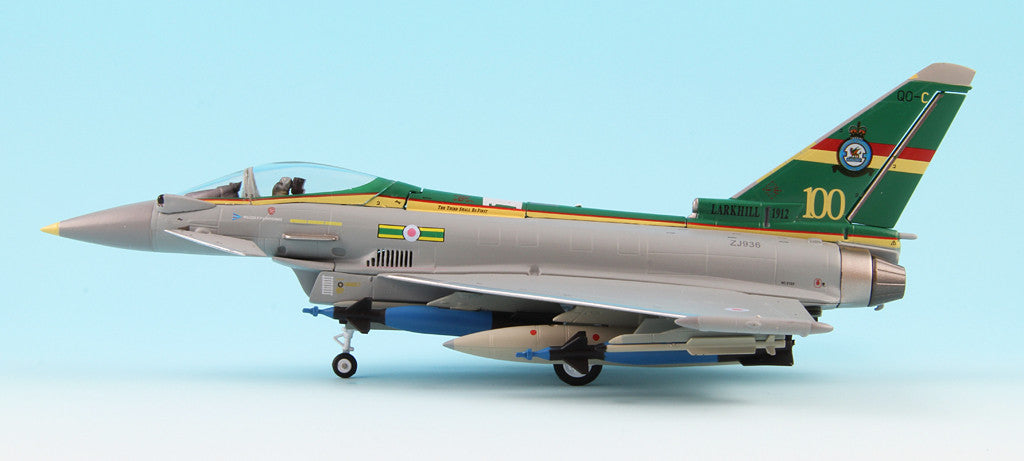 Witty Wings 1/72 EF-2000 Eurofighter Typhoon RAF The 3(F) Squadron 100th Anniversary Diecast Military Aircraft Model (WTW-72-032-002)