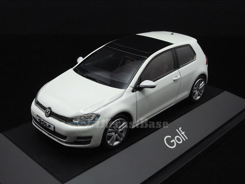 Herpa 070690 1/43 Volkswagen Golf VII 2 doors Pure White VW Diecast Model Road Car