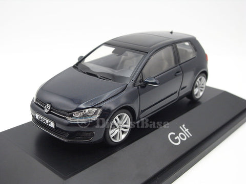 Herpa 070706 1/43 Volkswagen Golf VII 2 doors Night Blue VW Diecast Model Road Car