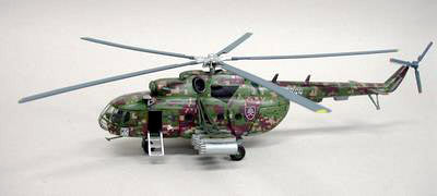 Witty Wings 1/72 MI-17 Slovakia Air Force 0844 Diecast Military Helicopter Model (WTW-72-101-002)